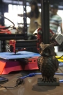 Cool 3D printer made from aluminium extrusions